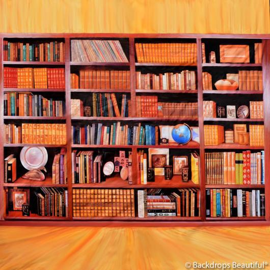 Backdrops: Bookshelves 1