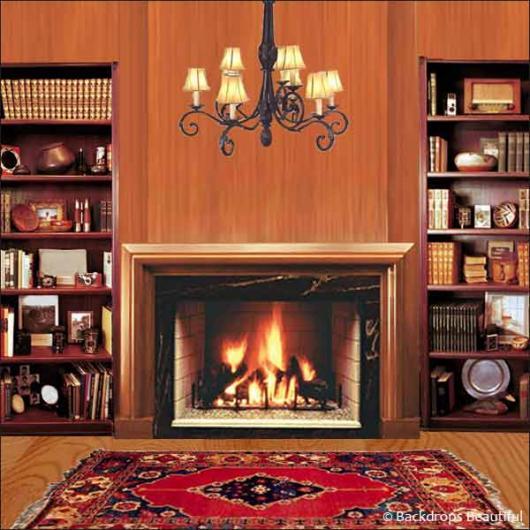 backdrops fireplace 1