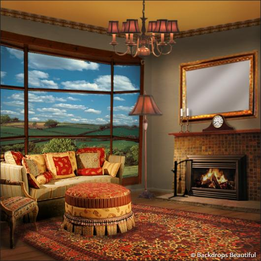 Backdrops: Living Room
