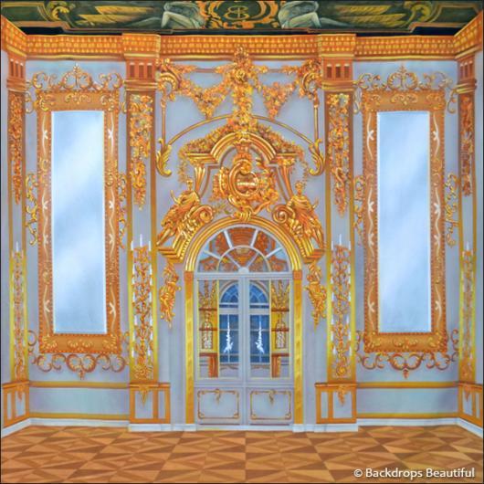 Backdrops: Palace Interior 6 Gold