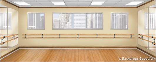 Backdrops: Dance Studio 3