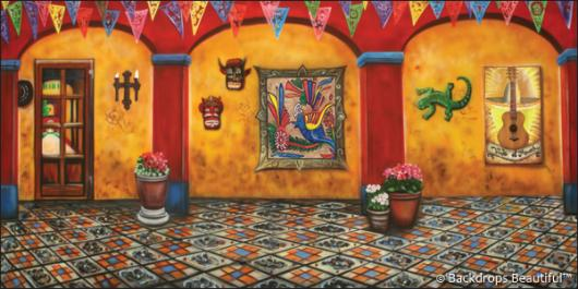 Backdrops: Mexican Hacienda 1