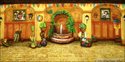 Backdrops: Mexican Hacienda 2