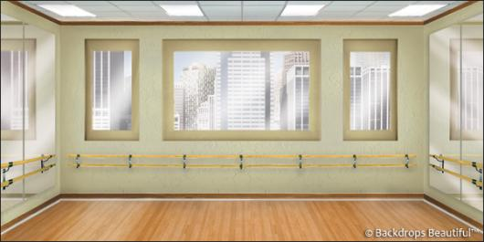 Backdrops: Dance Studio 1