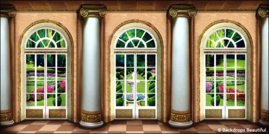 Backdrops: Mansion View  9A