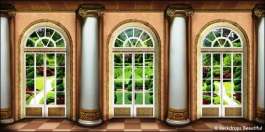 Backdrops: Mansion View  9B