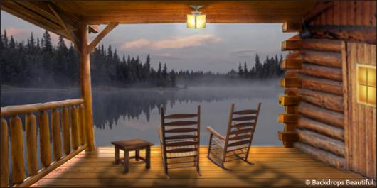 Backdrops: Cabin View 1