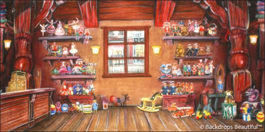 Backdrops: Toy Shop Interior 4