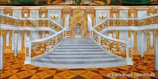 Backdrops: Mansion Interior 10 Gold