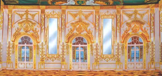 Backdrops: Palace Interior 4 Gold