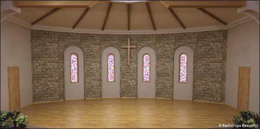 Backdrops: Church Interior 2