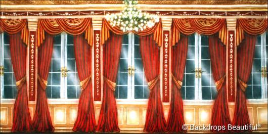 Backdrops: Mansion View 14 Drapes