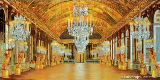 Backdrops: Palace Interior 7 Chandeliers
