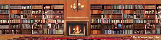 Backdrops: Fireplace 4