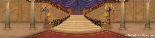 Backdrops: Mansion Interior  7 Purple