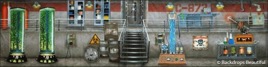 Backdrops: Lab Interior 4