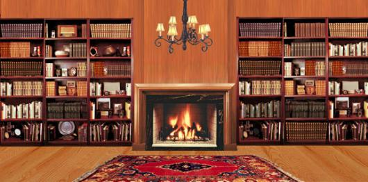 Backdrops: Fireplace 2