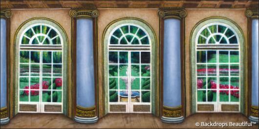 Backdrops: Mansion View  1 Columns
