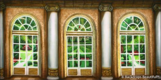 Backdrops: Mansion View  2 Columns