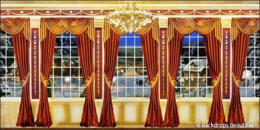 Backdrops: Mansion View  6 Drapes