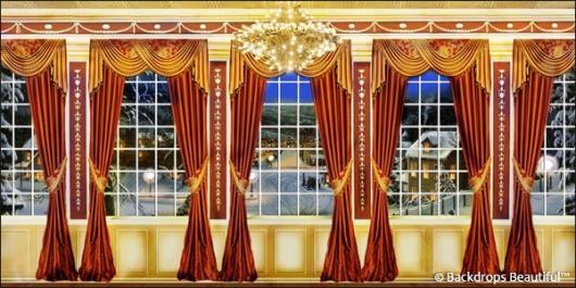 Backdrops: Mansion View  6 Drapes