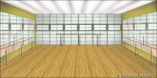 Backdrops: Dance Studio 2