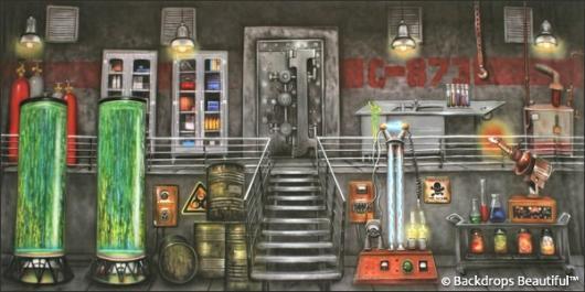 Backdrops: Lab Interior 1
