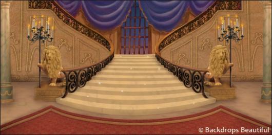 Backdrops: Mansion Interior  5B Purple