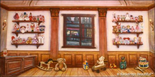 Backdrops: Toy Shop Interior 1