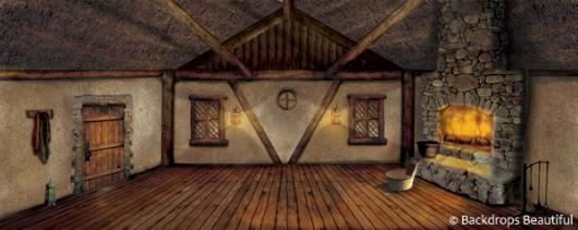 Backdrops: Cottage Interior 2