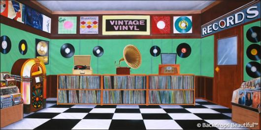 Backdrops: Music Store 1
