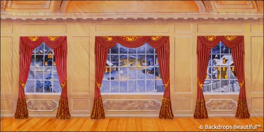 Backdrops: Mansion View 11 Drapes