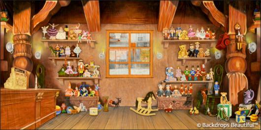 Backdrops: Toy Shop Interior 2