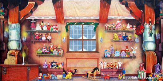 Backdrops: Toy Shop Interior 3