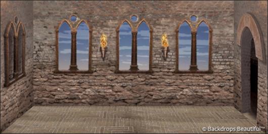 Backdrops: Monastery Interior 1