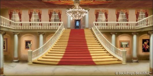 Backdrops: Mansion Interior  2D
