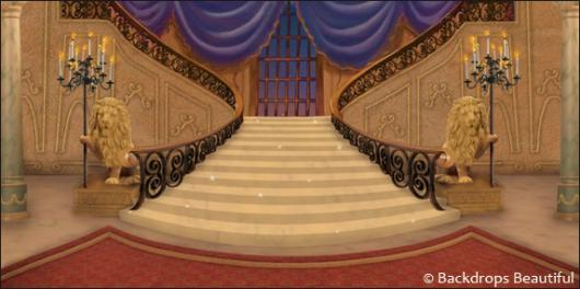 Backdrops: Mansion Interior  5C Purple