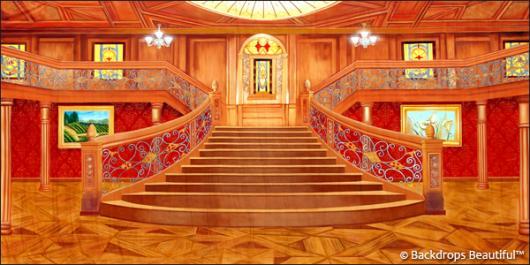 Backdrops: Mansion Interior  8 Wood