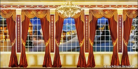 Backdrops: Mansion View  5D Drapes