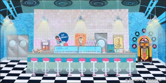 Backdrops: Ice Cream Shop 3