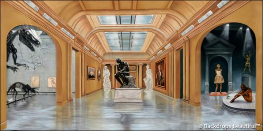 Backdrops: Museum 2