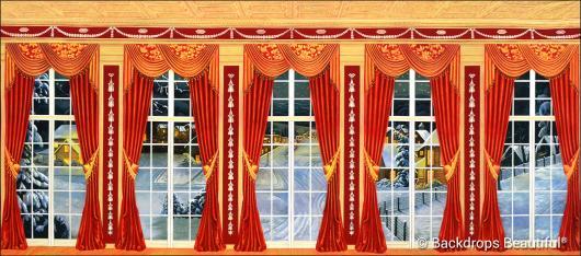 Backdrops: Mansion View 13 Drapes