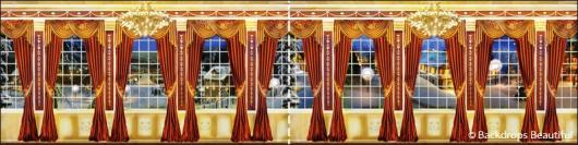 Backdrops: Mansion View  7 Panel