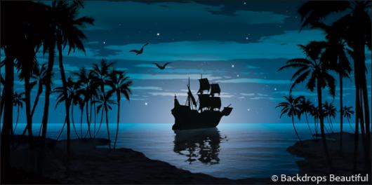 Backdrops: Pirate Ship 2