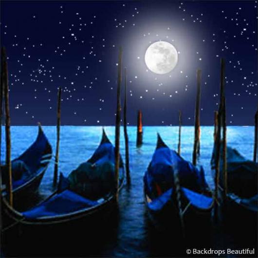 Backdrops: Gondolas by Night 2