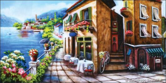 Backdrops: Italian Street Scene 4