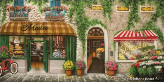 Backdrops: Italian Street Scene 7