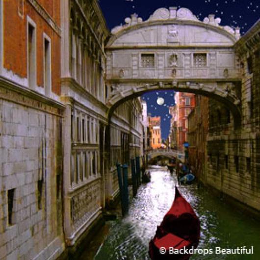 Backdrops: Gondola Bridge 3