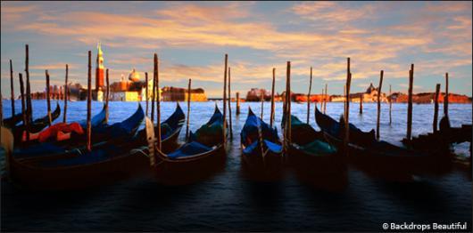 Backdrops: Gondolas by Day