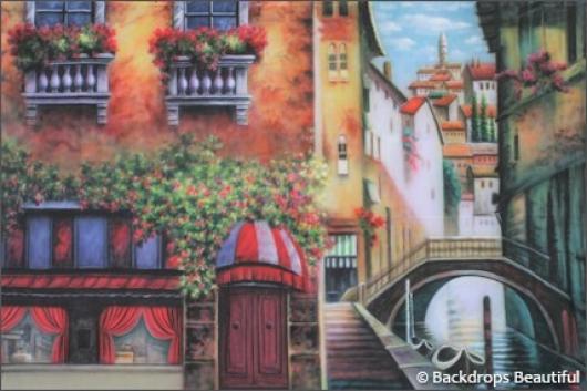 Backdrops: Italian Street Scene 1